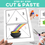 Fine Motor Cut and Paste Occupational Therapy AdaptEd 4 Special Ed