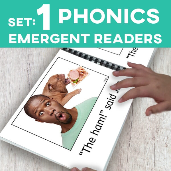 PHONICS Emergent Readers: Set 1 (Printable PDF)