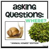 WH Questions are an important concept to teach in a lifeskills classroom.  This asking WH questions series is designed to get your students to begin asking questions with provoking images that will keep your special education IEP work fun and interesting.  This simple set works great with a variety of learners including those who need AAC speech therapy. #specialneeds #SLP #adapted4specialed