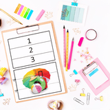 Teaching scissor skills printables mega set perfect activity for special education centers, or scissor practice in kindergarten.  Designed by an occupational therapist. #adapted4specialed #SPED #ScissorSkills