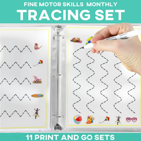 These are going to be fantastic to use in my SPED classroom this year! This is an excellent activity for increasing fine motor skills.  Love that it's print and go and I have all the monthly sets! Thanks!