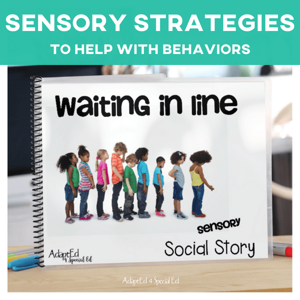 Waiting In Line: Sensory Social Story (Printable PDF)