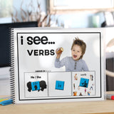 Pronouns And Verbs Adapted Book Adapted 4 Special Ed