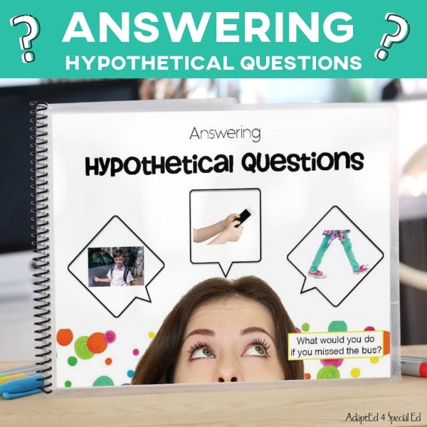 answering questions speech therapy speech therapy activities language wh questions picture cards context clues describing interactive asd answering wh questions teaching visual autism what examples small groups explanation lesson practice #specialneeds #adapted4specialed