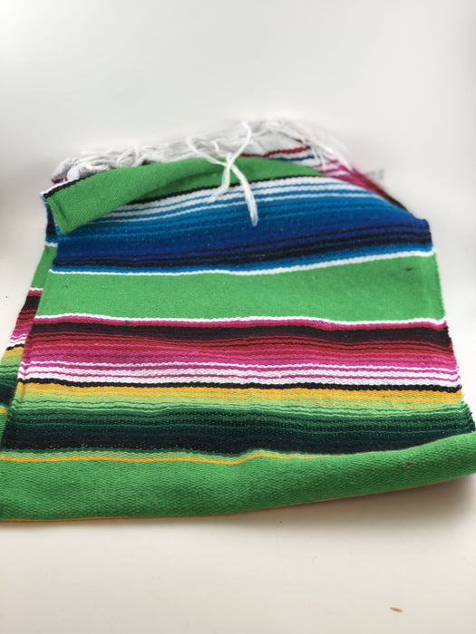 Light Green Small Sarape Saltillo