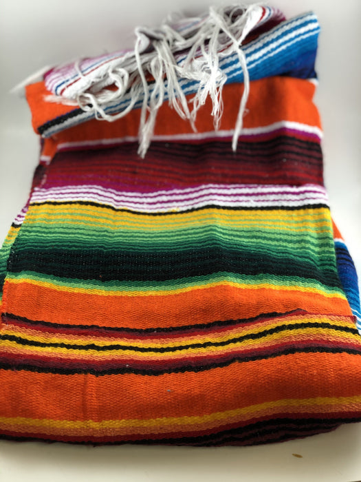 Orange Medium Sarape Saltillo