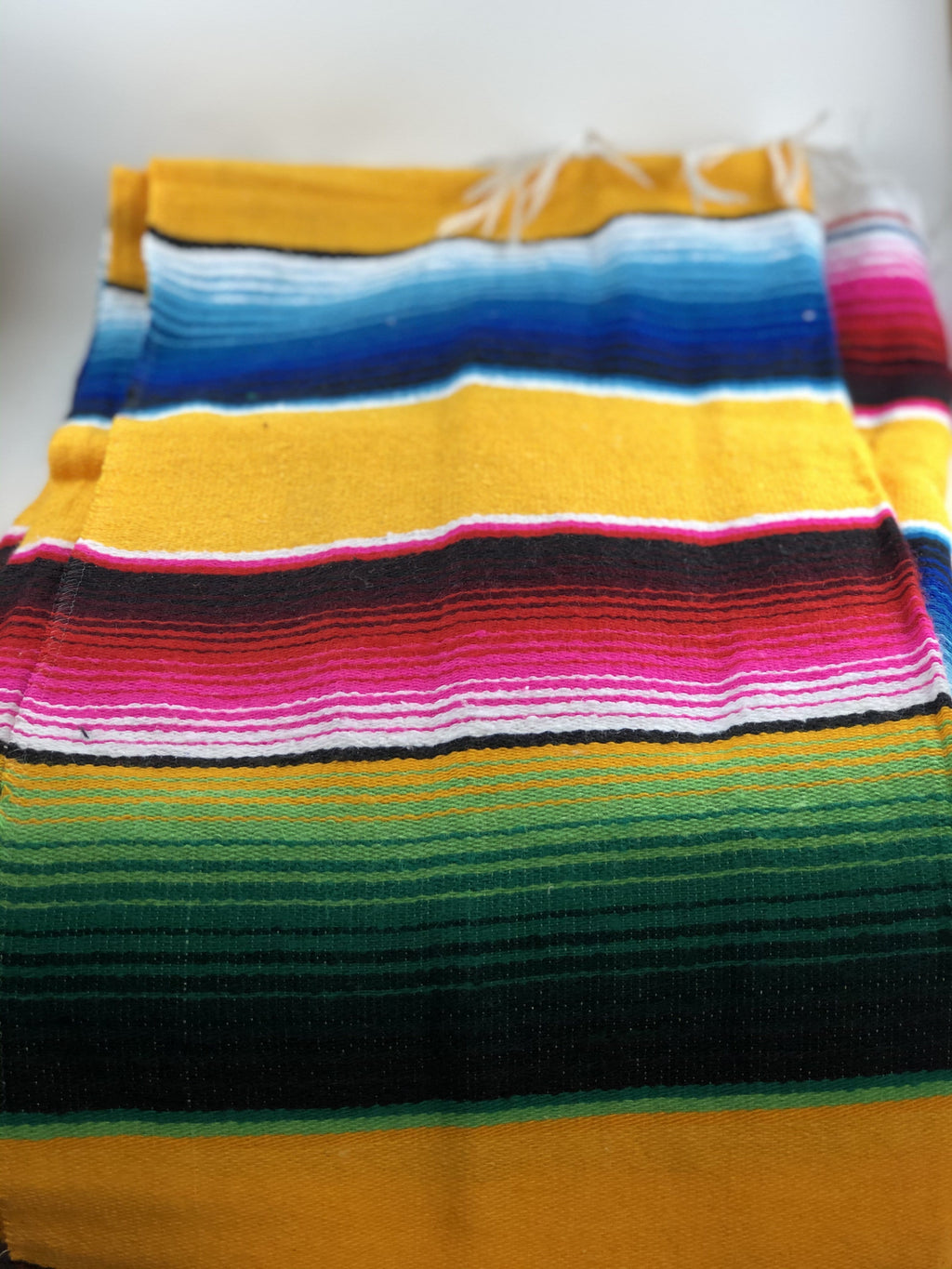 Yellow Large Sarape Saltillo