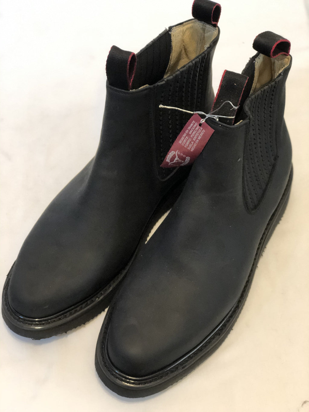 Black Milrayas Sole Work Boot