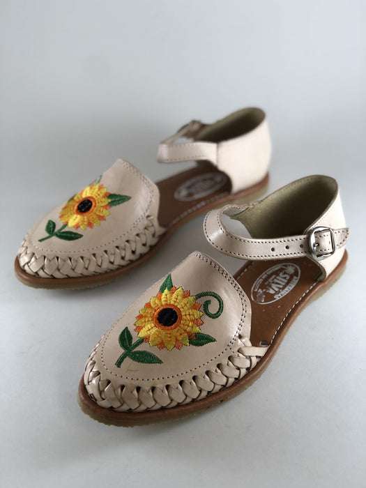 Huarache de Pulsera - Natural Sunflower