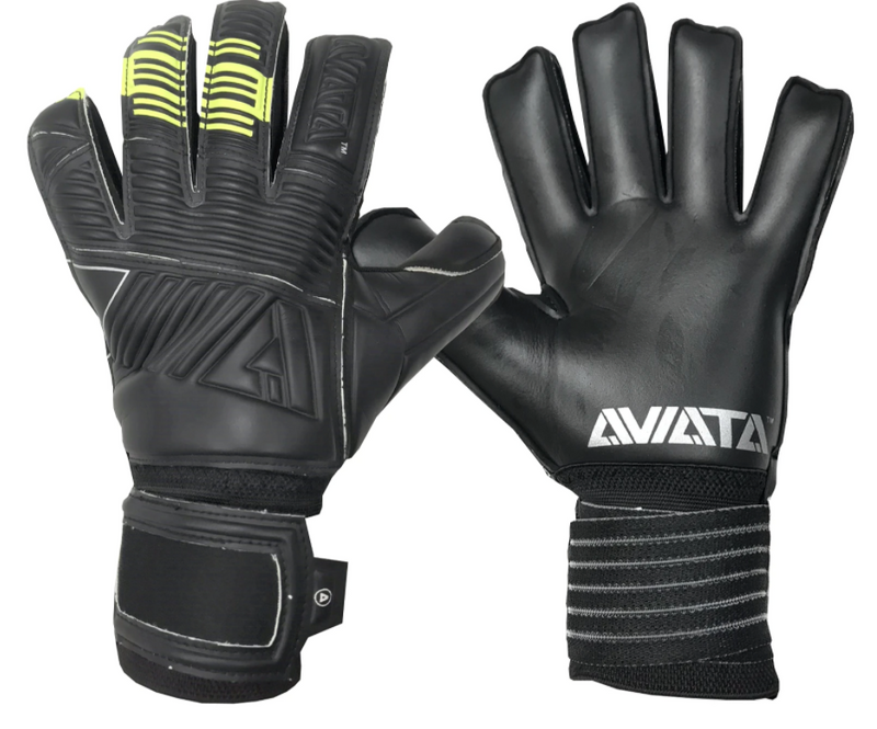 Aviata Stretta Blackout Spark Goalkeeper Gloves