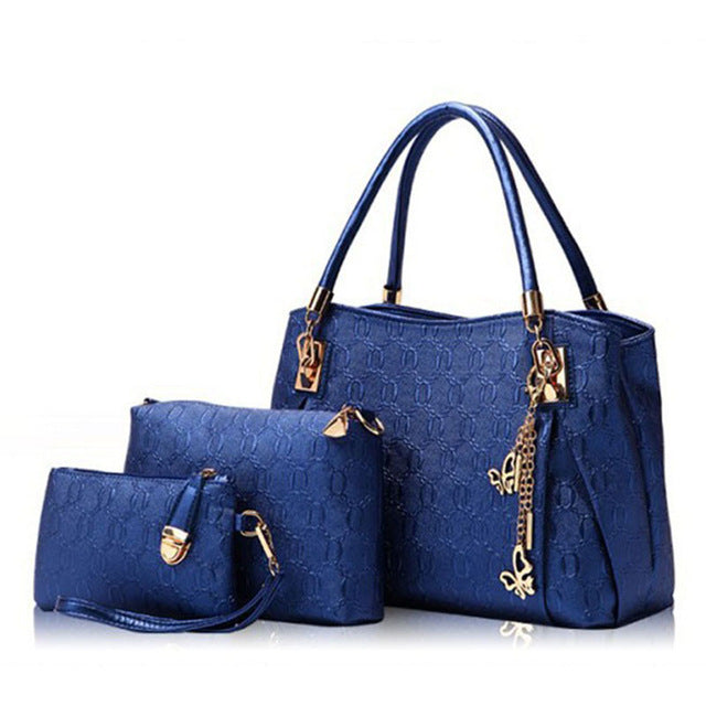 KNY KAVIN Women Fashion Handbags Crossbody Bags Purse Set Luxury PU Leather Messenger Bag Set Handbags borsa donna marca famosa