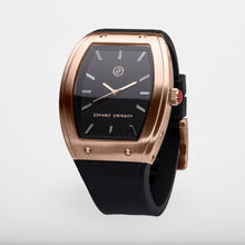 Exclusive and minimalistic rose gold watch Edvard Erikson watch E2 Rose Gold Edvard Erikson Watches is a Swedish watch brand made of Stainless steal 316L. Our E2 Watch is an elegant and luxury square shape watch for all occasions. Discover the complete collections of Edvard Erikson watches online.