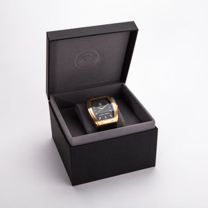 Exclusive and minimalistic gold watch Edvard Erikson watch E2 Brushed Gold Edvard Erikson Watches is a Swedish watch brand made of Stainless steal 316L. Our E2 Watch is an elegant and luxury square shape watch for all occasions. Discover the complete collections of Edvard Erikson watches online.