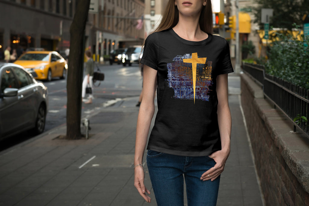Golden Cross T-Shirt