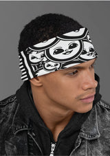 The Smile Project Face Shield - Headband - Bandana - Wristband - Neck Warmer