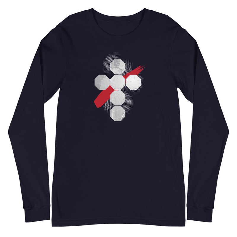 Tech Cross Long Sleeve Tee