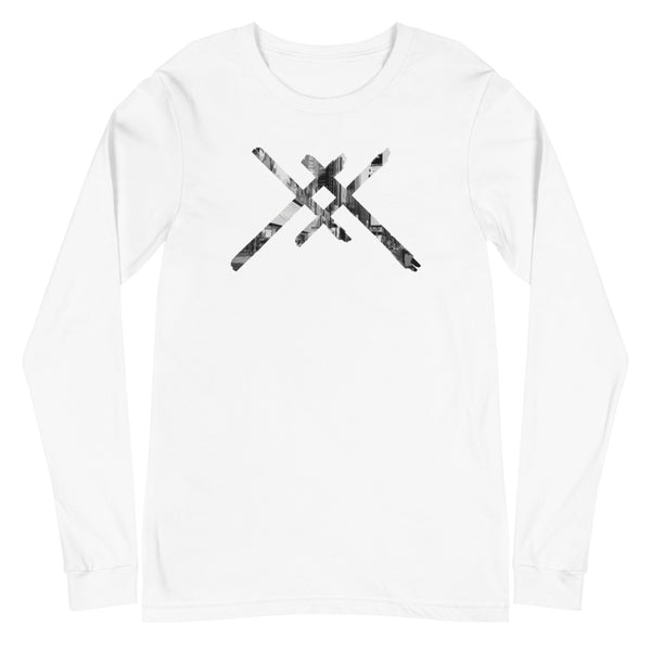 City Life Double Crosses Long Sleeve Tee