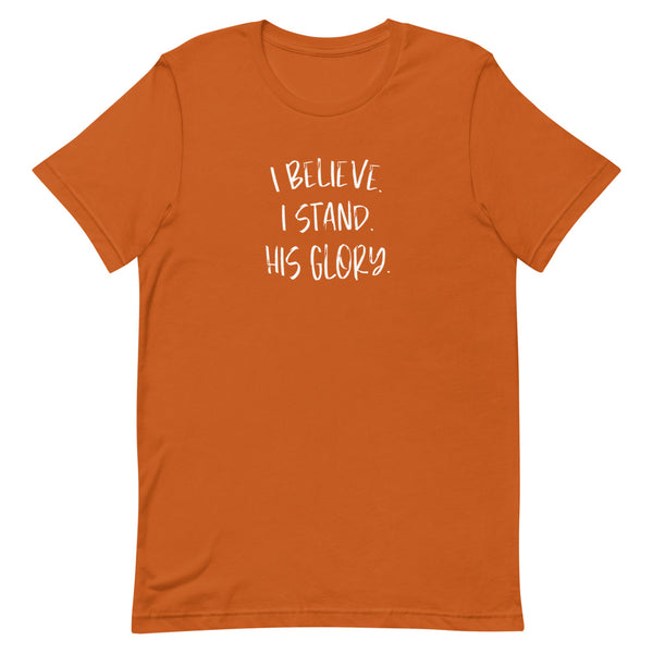 I Believe-I Stand Autumn T-Shirt