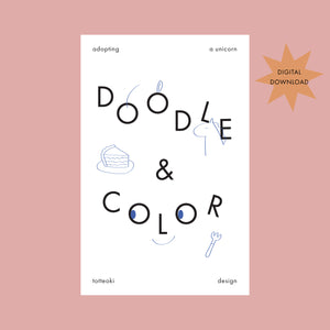 [Digital] Doodle and Coloring Book