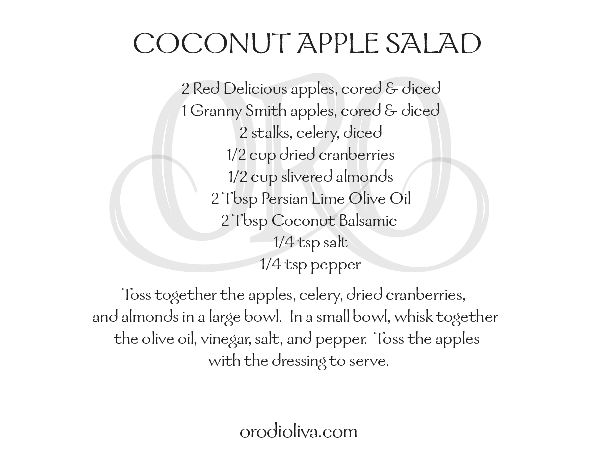 Coconut Apple Salad