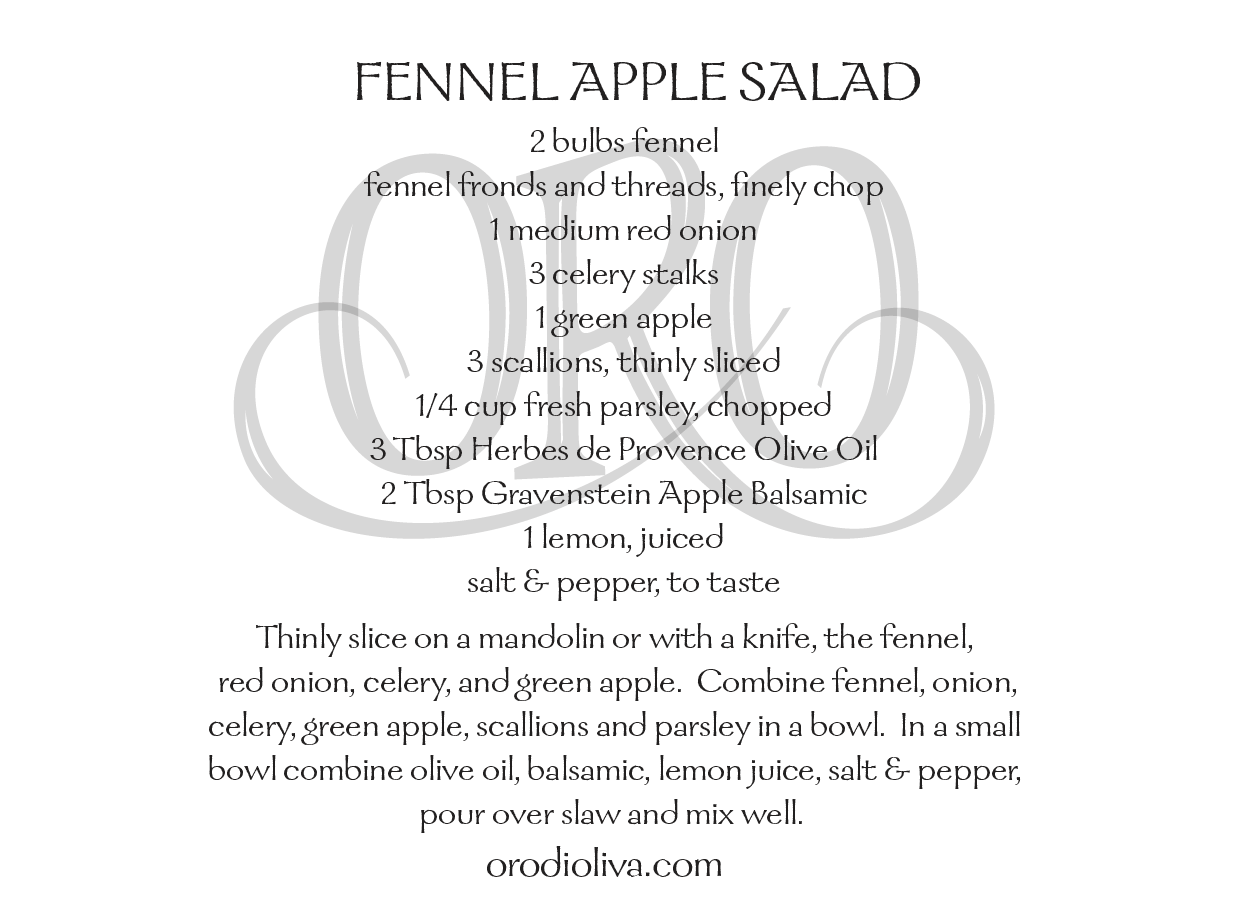 Fennel Apple Salad