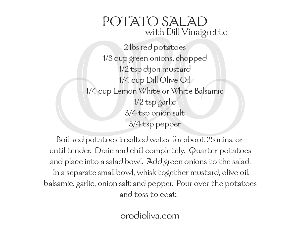 Potato Salad with Dill Vinaigrette