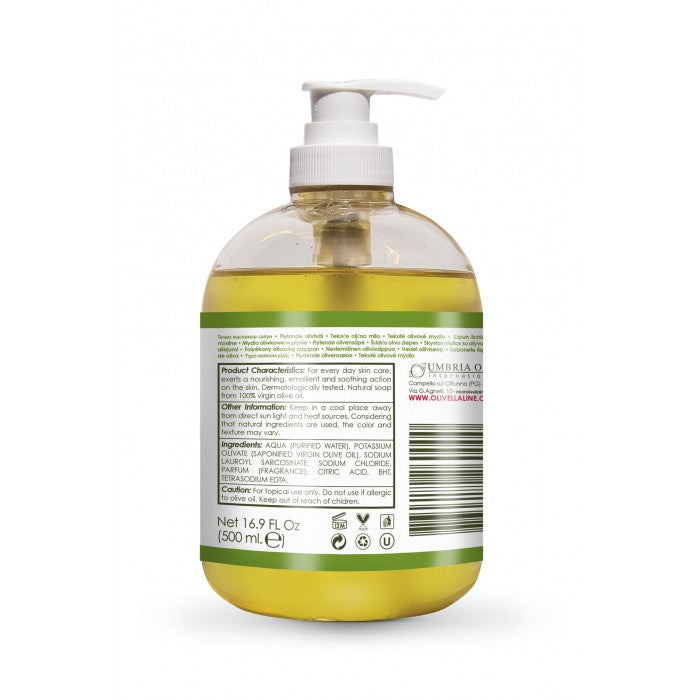 Face & Body Soap - Liquid Soap with Pump
