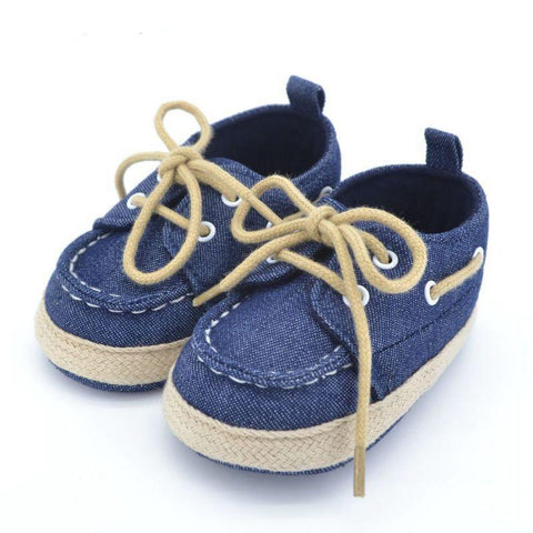 Baby Boy Soft Bottom Sneakers from Birth to 18 Months
