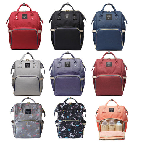Baby Diaper Bag Backpack Multi-Use