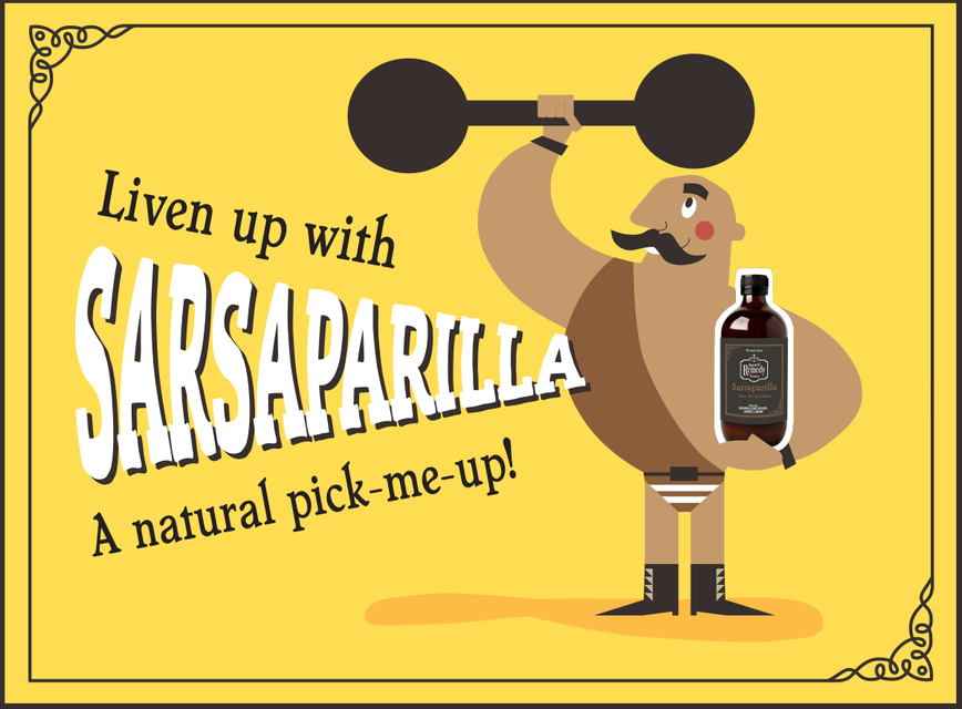 Liven Up with Sarsaparilla