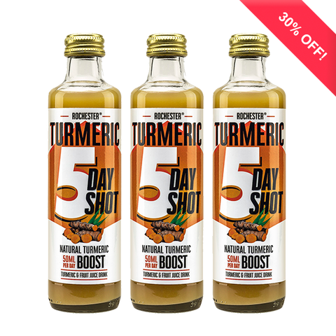 Rochester Turmeric 5 day health shots