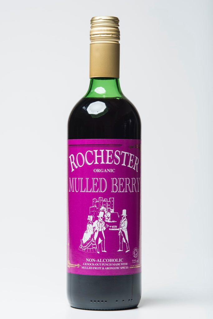 725ml bottle of Rochester Ginger's Mulled Berry