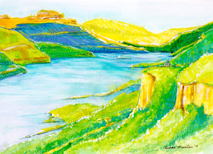 """The Gorge"" Denae Manion Print"