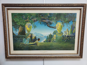 """Garden of Melody"" Print in Frame"