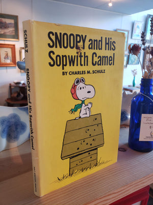 """Snoopy and his Sopwith Camel"" 1st Edition"