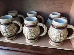 Nautical Porcelen Collectable Set of 6