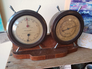 Antique Barometer Combo