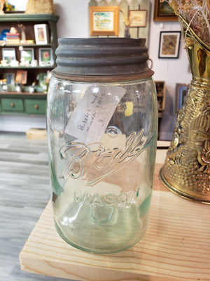 "Early Ball ""3L"" #7 quart jar"