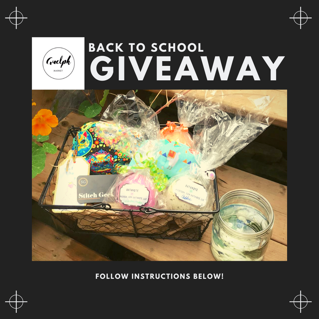 Back to School Giveaway (Ends August 28 11:59PM EST)