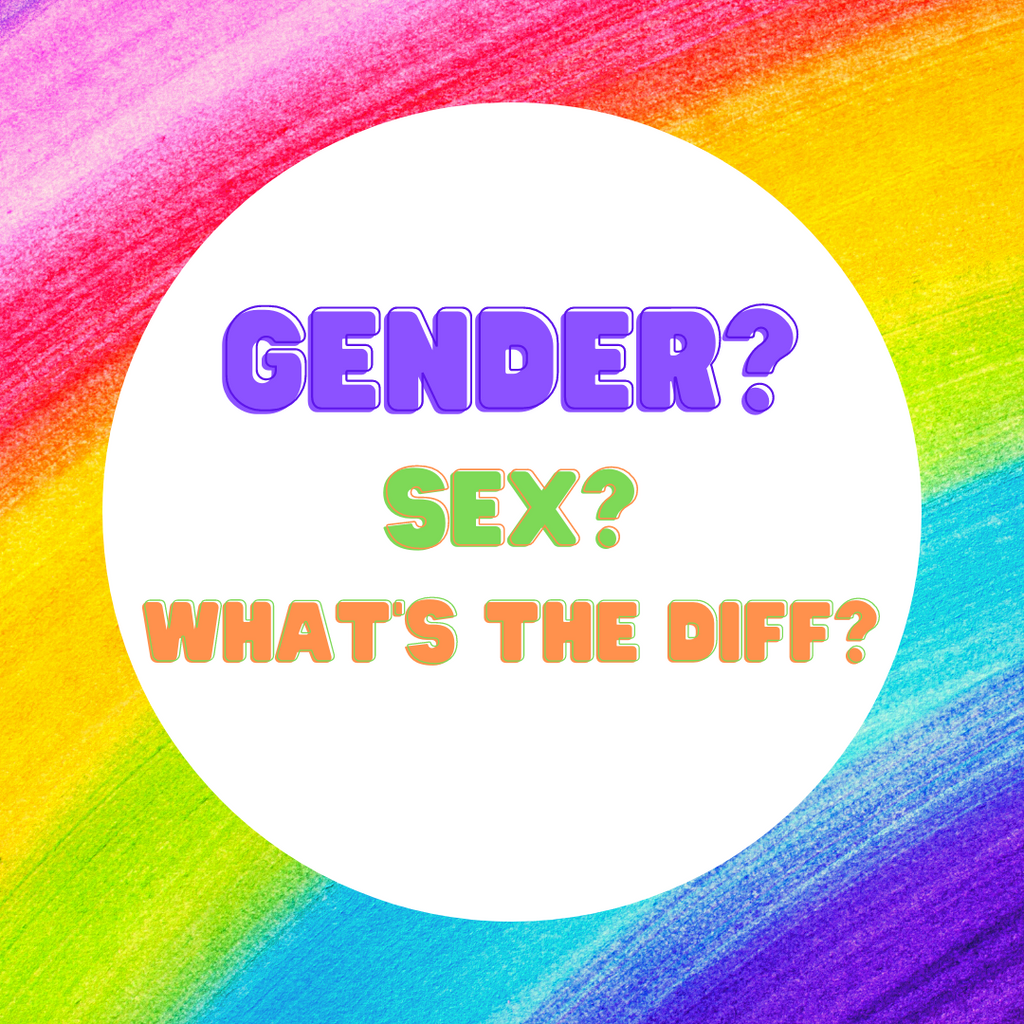 Gender and sex? What's the difference?