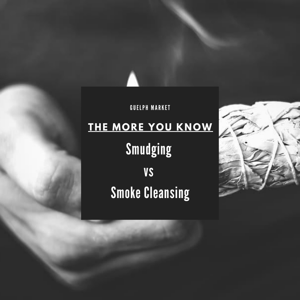 The More you Know - Smudging vs Smoke Cleansing