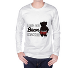 Bear Naked (Black) Unisex Long Sleeve Shirt - Junglhouse-Guelph Market