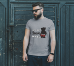 Bear Naked (Black) Unisex T-Shirt - Junglhouse-Guelph Market