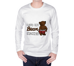 Bear Naked (Brown) Unisex Long Sleeve Shirt - Junglhouse-Guelph Market
