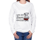 Bear Naked (Polar) Unisex Long Sleeve Shirt - Junglhouse-Guelph Market