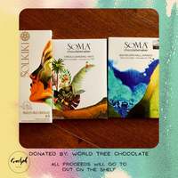 Craft Chocolate Pack - donated by World Tree Chocolate-Guelph Market