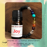 Diffuser Bracelet and Joy- donated by LJ Turtle Aromatherapy-Guelph Market