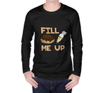 Fill Me Up Unisex Long Sleeve Shirt - Junglhouse-Guelph Market