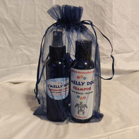 Smelly Dog Grooming Spray and Smelly Dog Shampoo (118 ml each) - donated by LJ Turtle Aromatherapy-Guelph Market
