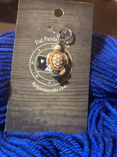 Antique Style Turtle Stitch Marker
